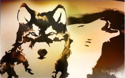 Picture of The Two Wolves