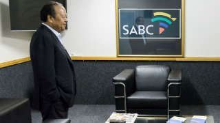 Picture of Prem Rawat on SABC News