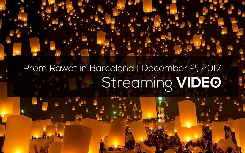 Prem Rawat in Barcelona, December 2017 (English)