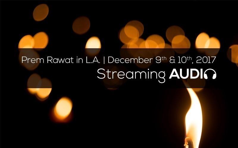 Picture of Prem Rawat in L.A. Dec 9, 2017 (Audio)
