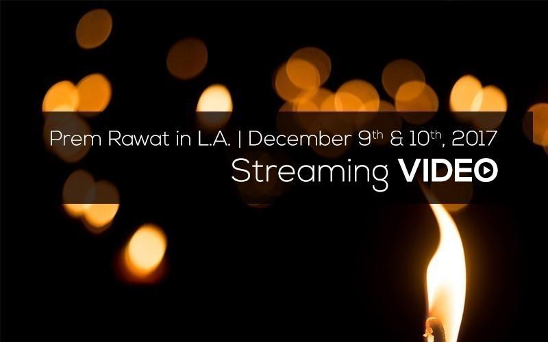 Picture of Prem Rawat in L.A. Dec 10, 2017