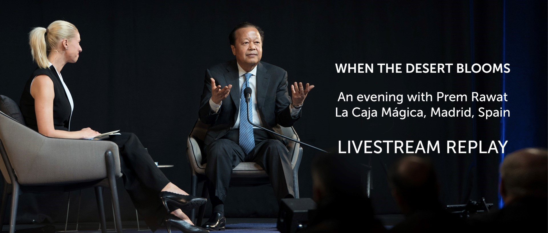 Prem Rawat in Madrid