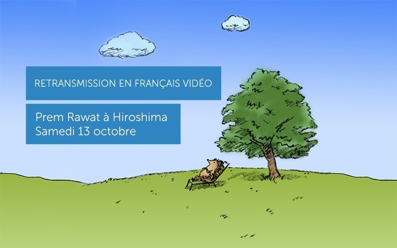 Prem Rawat à Hiroshima, Japon (Vidéo) Français