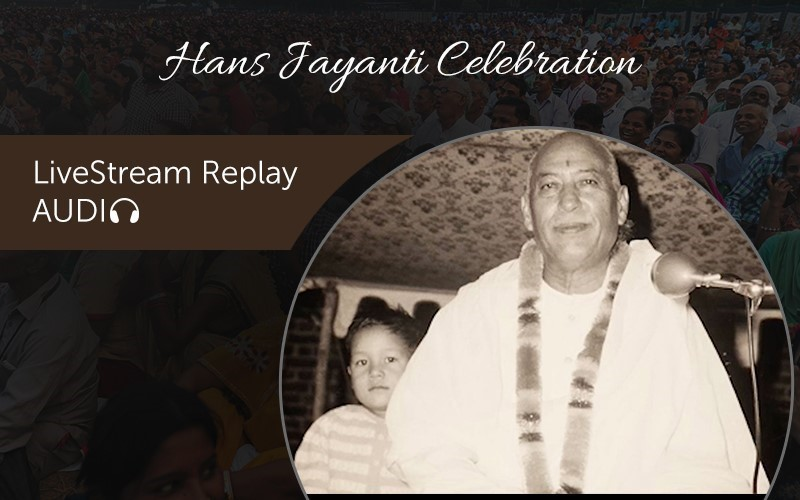 Hans Jayanti Celebration Replay (Audio)