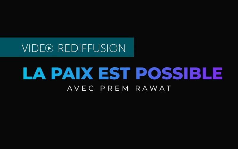 La paix est possible - Rediffusion en français (Video)