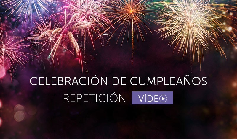 Repetición de la celebración del cumpleaños - Español (Video)