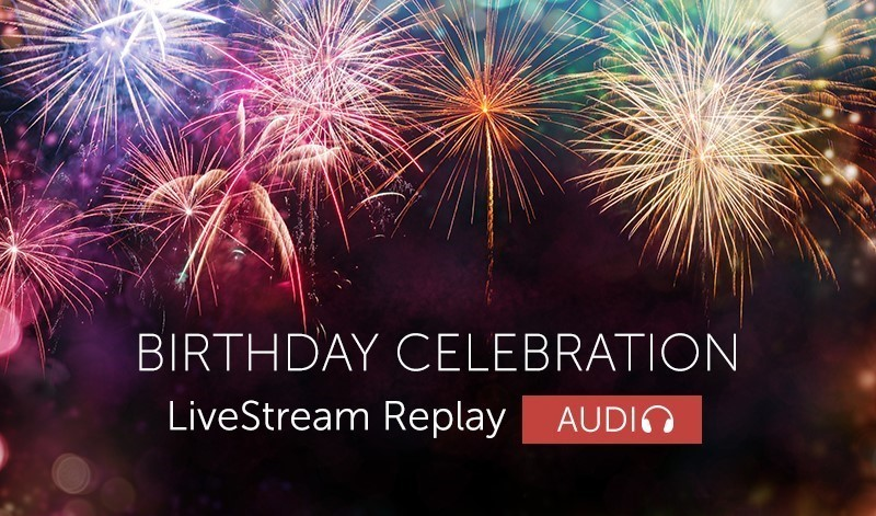 Birthday Celebration Replay (Audio)
