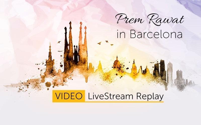Prem Rawat in Barcelona - English (Video)