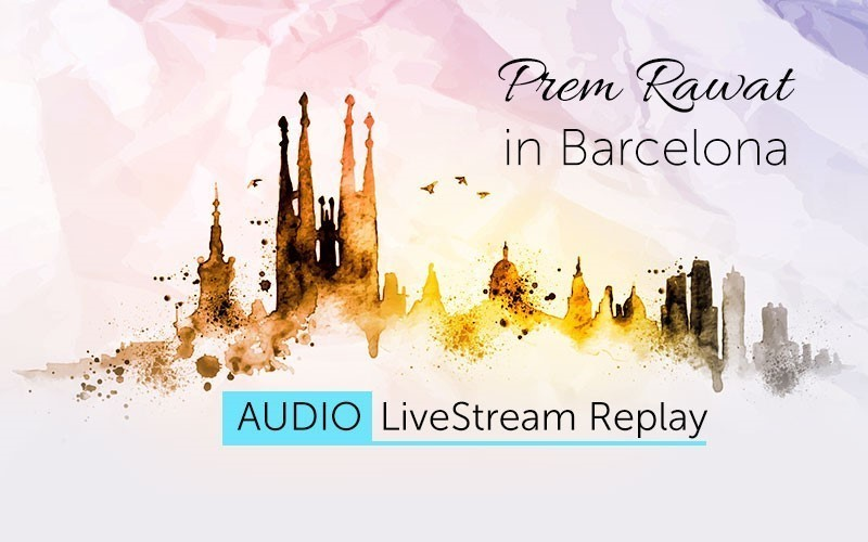 Prem Rawat in Barcelona (Audio)