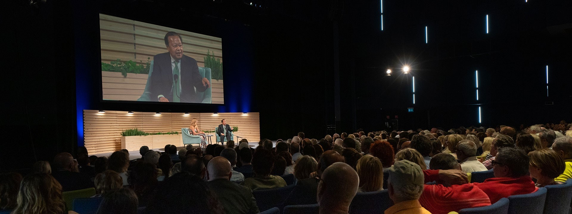 Prem Rawat a Milano (video) in italiano