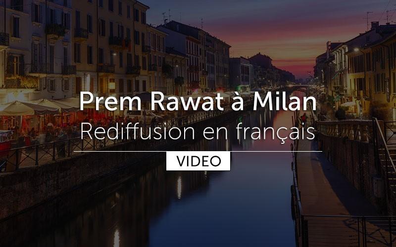 Prem Rawat à Milan - (video) en français