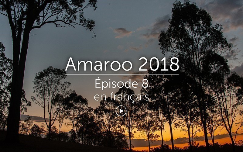 Amaroo 2018 Épisode 8 - français (vidéo)