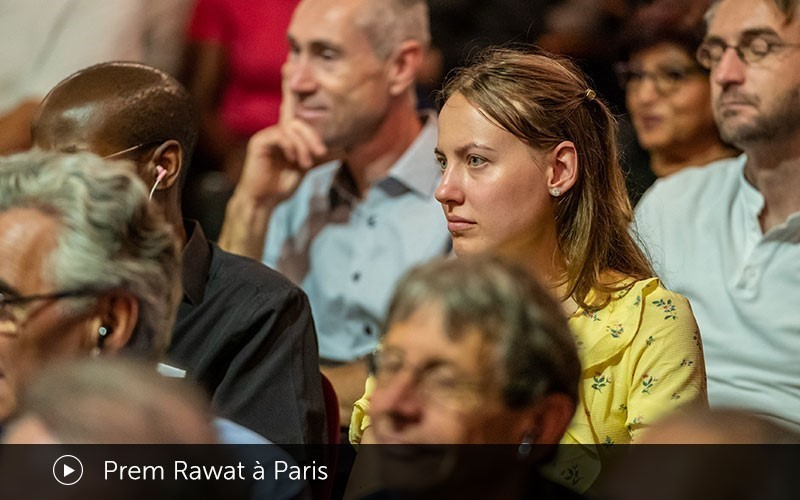 Prem Rawat à Paris (Video)