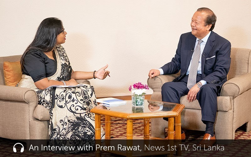 An Interview with Prem Rawat (audio)