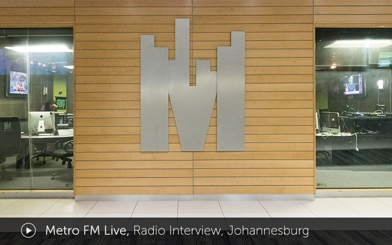 """Metro FM Live"" Radio Interview (Video)"