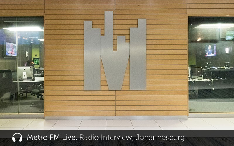 """Metro FM Live"" Radio Interview (Audio)"