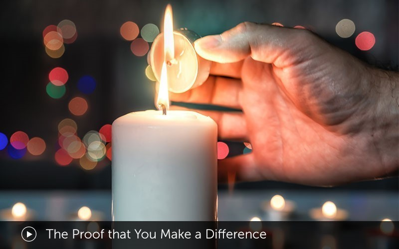 The Proof that You Make a Difference