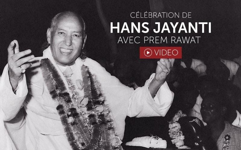 Célébration de Hans Jayanti (video)