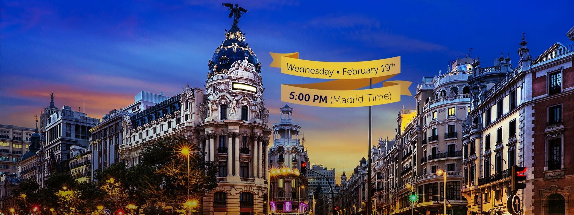 Express Stream of Prem in Madrid