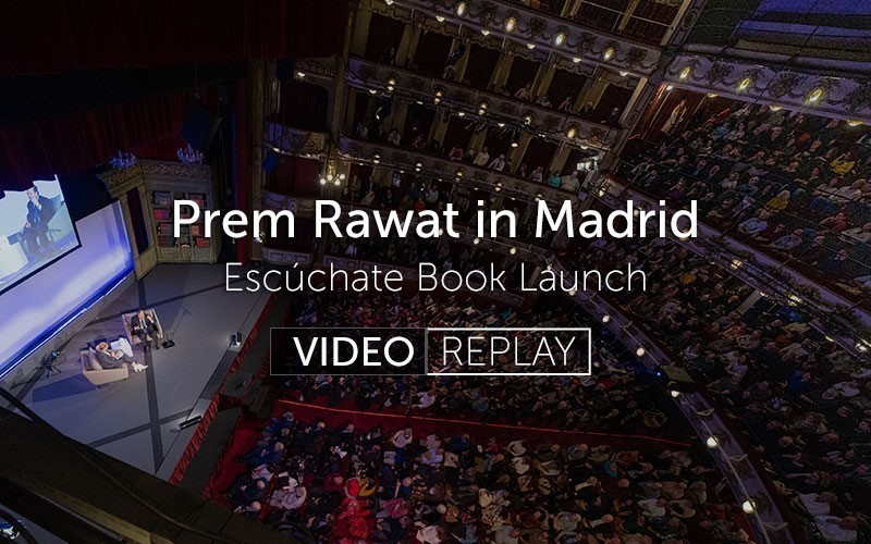 Prem Rawat in Madrid (Video)