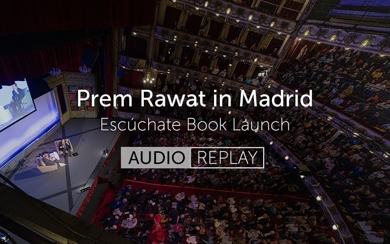 Prem Rawat in Madrid (Audio)