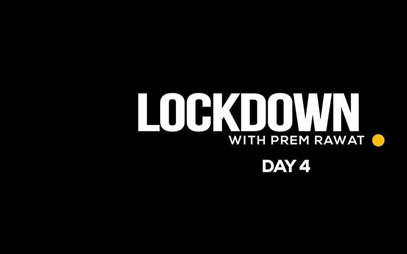 Lockdown, Day 4