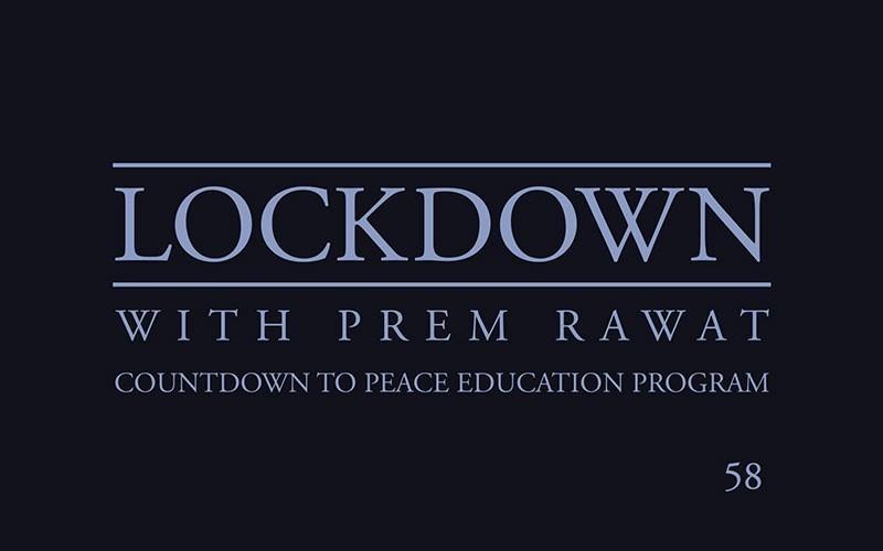 Lockdown, Day 58