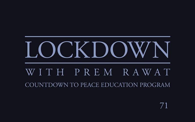 Lockdown, Day 71