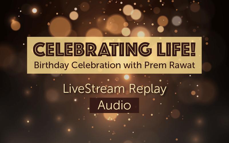 Celebrating Life! (audio)