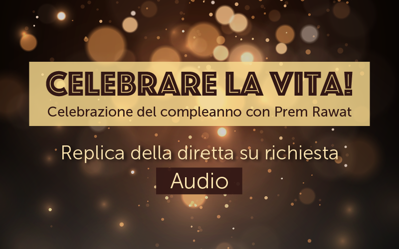 Celebrare la vita! (Audio)