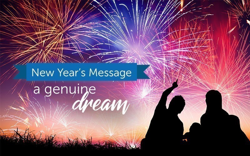 New Year's Message 2021 - A Genuine Dream (Audio)