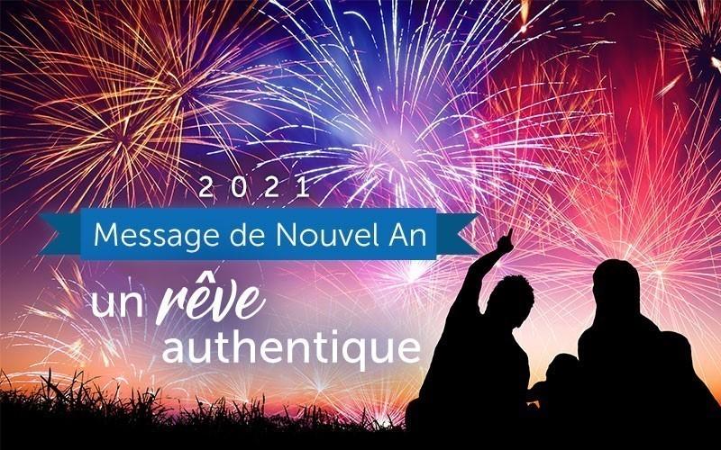 Message du Nouvel An 2021 (video)