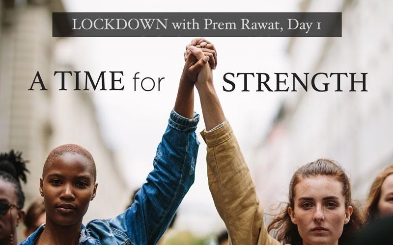 Lockdown, Day 1