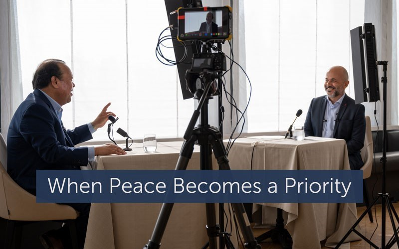 When Peace Becomes a Priority (Video)