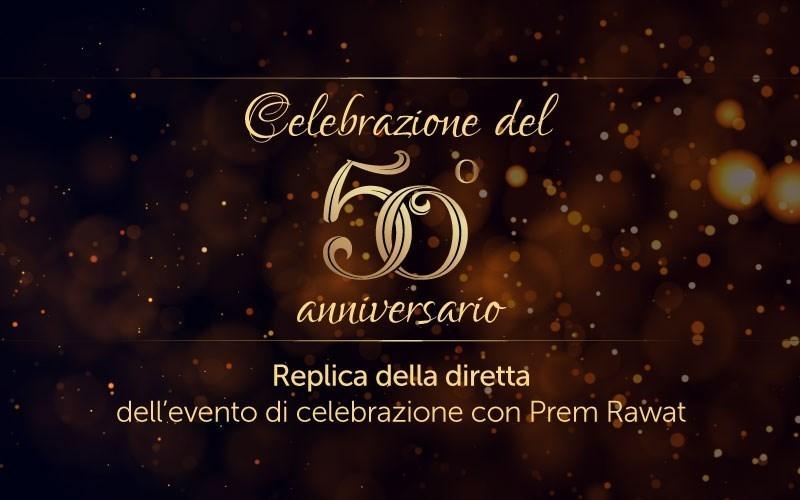 Celebrazione del 50° anniversario (audio)