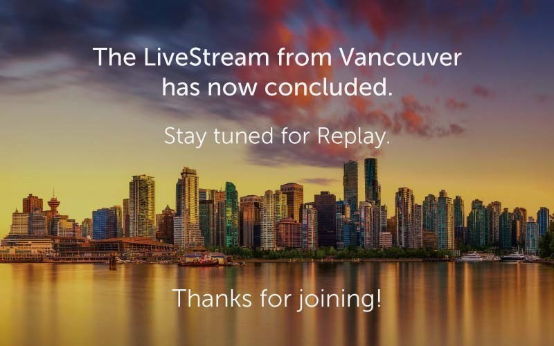 The LiveStream has now concluded