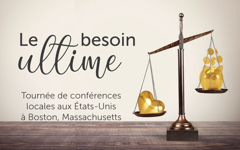 Le besoin ultime (audio)